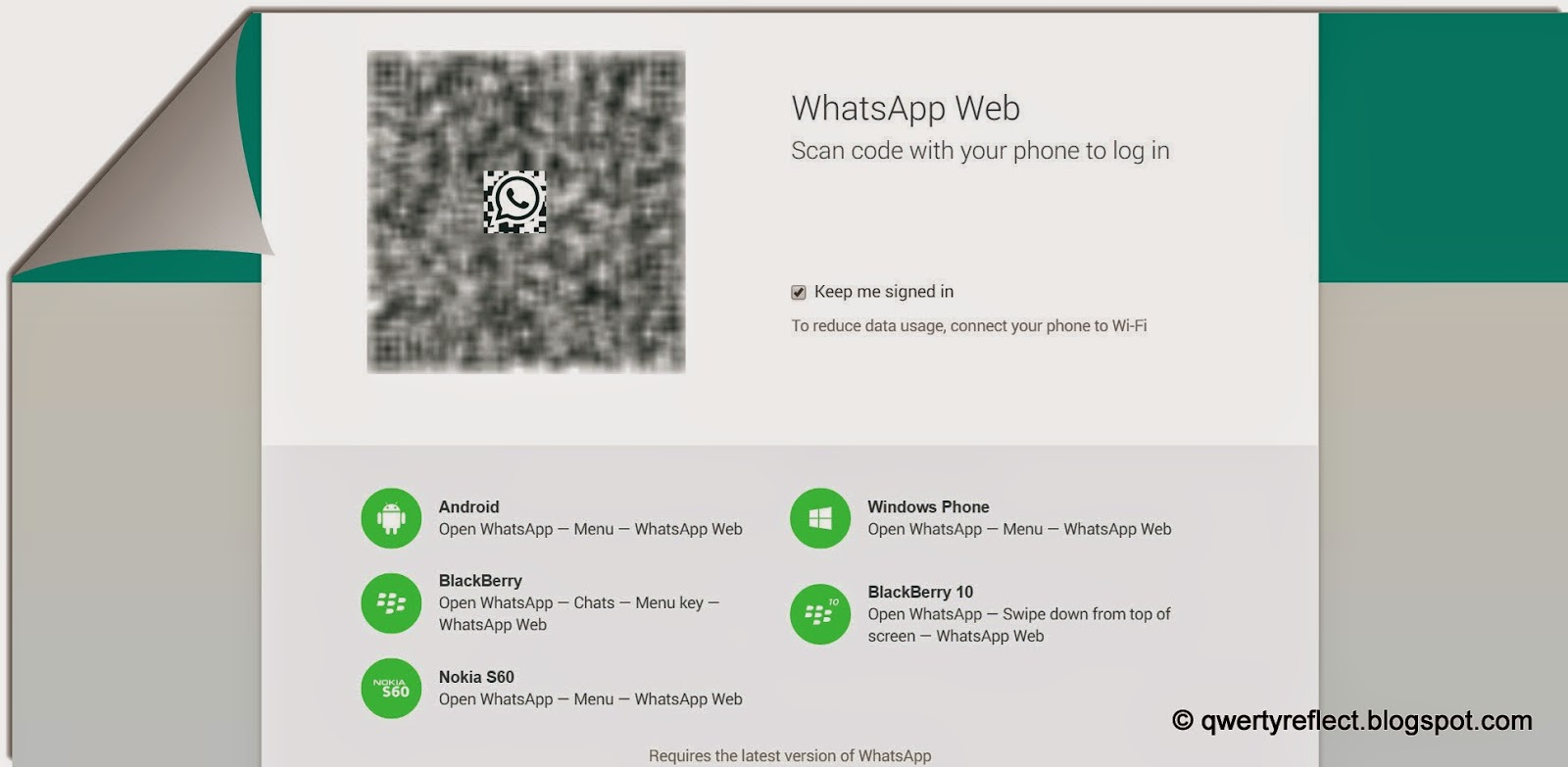 To The World I May Be One Whatsapp Is Now On Web