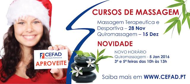 CEFAD CURSOS DE MASSAGEM