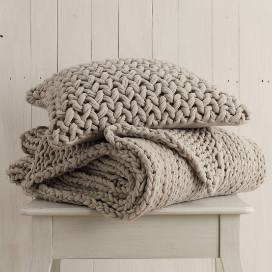 Knitting Pattern For Chunky Cushion Cover : Interior Design Inspiration - Ramblings From My Sofa: You can never have too ...