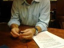 Dialogando en el Café Salambó