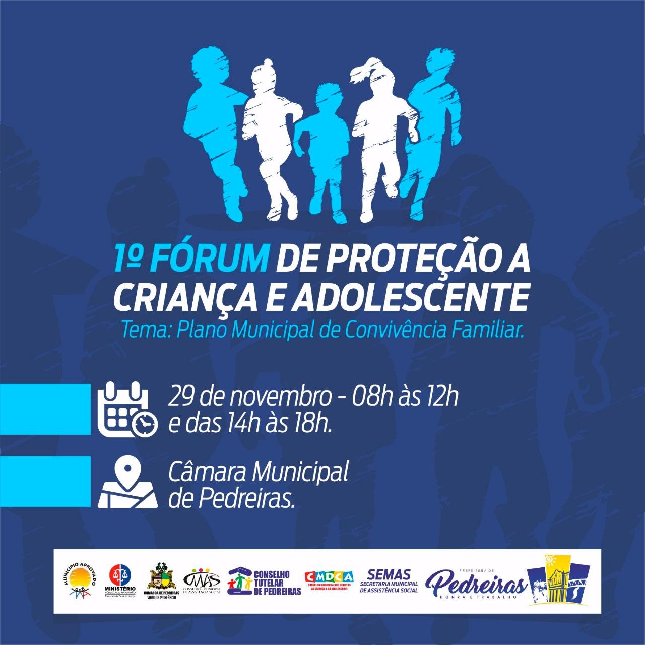 1º FÓRUM DE PROTEÇÃO À CRIANÇA E ADOLESCENTE