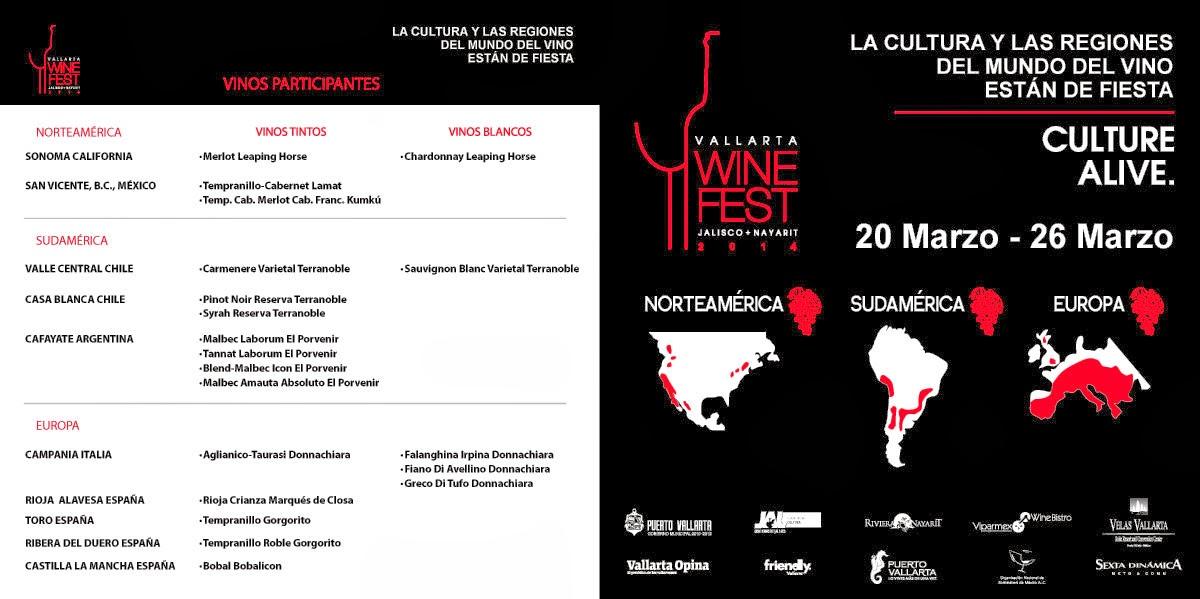 Festival del vino Puerto Vallarta 2014