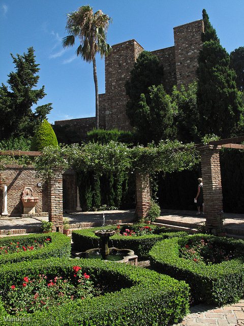 Alcazaba in Málaga, Spain. Photo: Manuchis. Unauthorized use is prohibited.