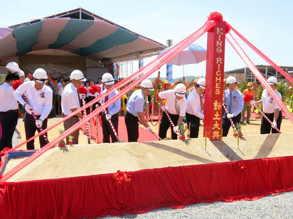 King Riches breaks the ground at VSIP Quang Ngai
