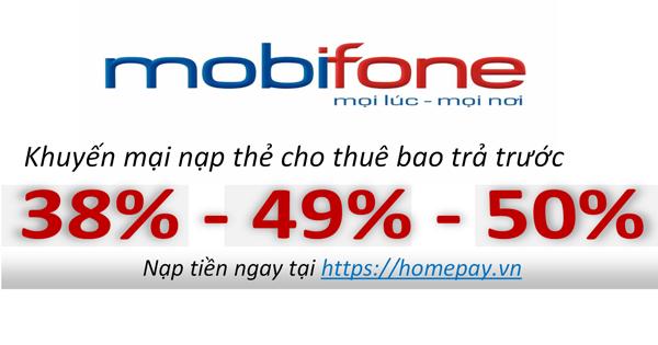 Khuyến mại nạp thẻ Mobifone | Khuyến mại nạp thẻ mobi | MobiFone khuyến mại | Mobi khuyến mại