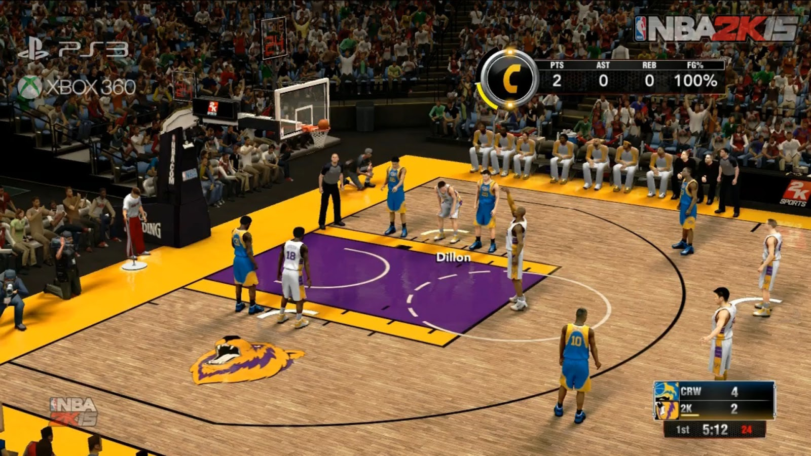 Crew Mode Is Back in Nba 2K15 on Ps3 Xbox360 Hoopsvilla