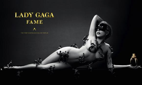 Lady Gaga Nude Fame Perfume