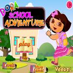 لعبة مغامرات دورا في المدرسة