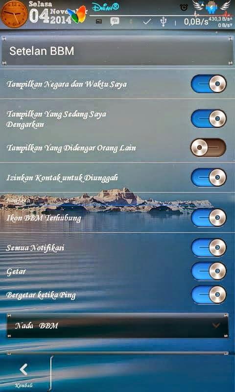 Mod BBM Transparan V2.5.0.32 Apk
