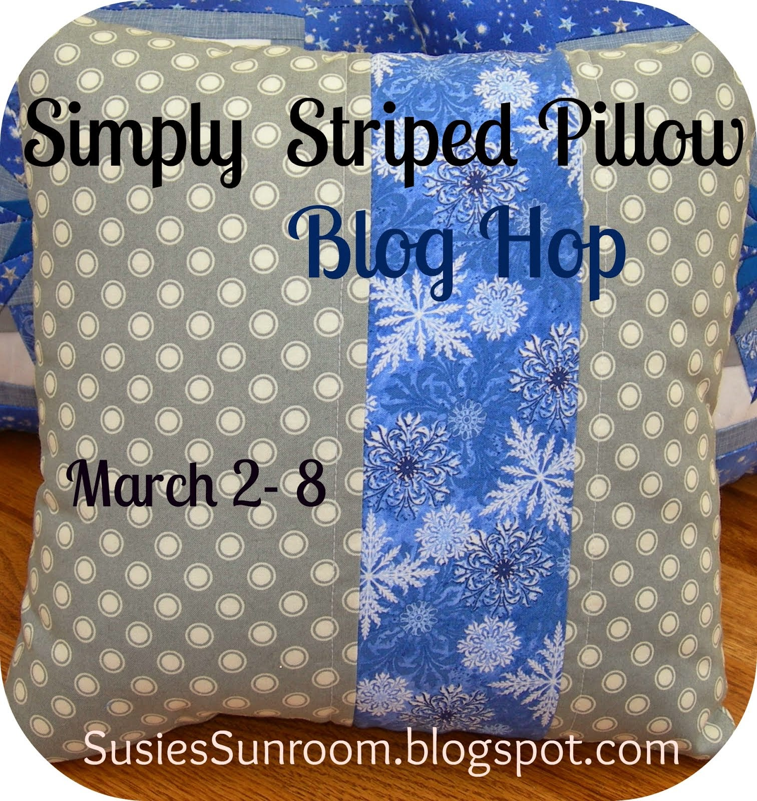 Simply Striped Pillow Blog Hop!