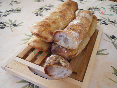 Pan chapata con masa madre.