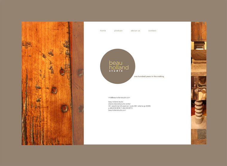 Website Design Beau Holland Studio