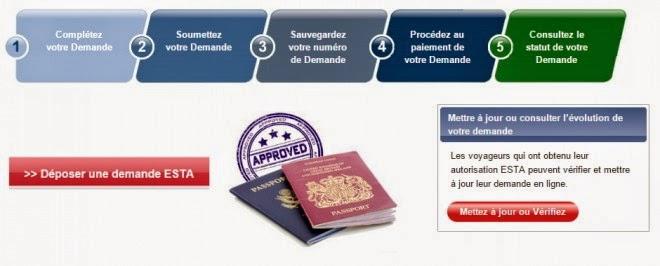 Faire sa demande d'ESTA pour un voyage au USA