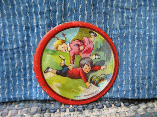 "3"" jack and jill tin plate for $20"