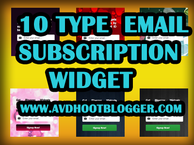 types of subscription
