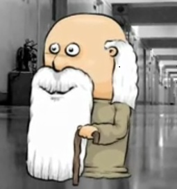 A picture of Mr. Winkle from the video