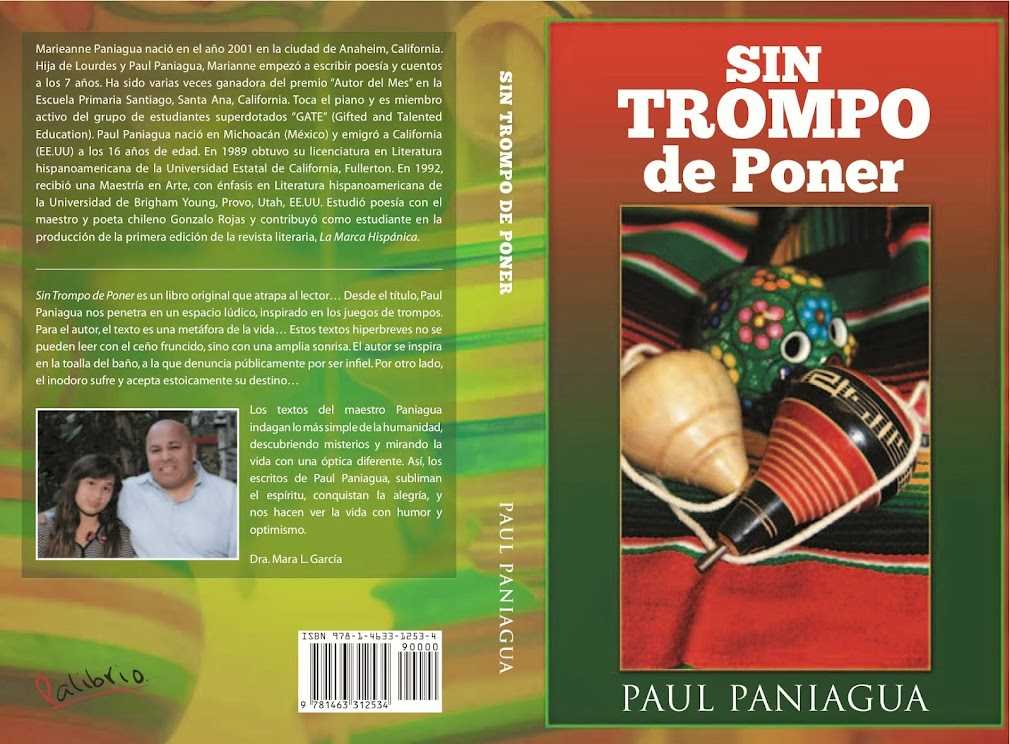PAUL PANIAGUA   SIN TROMPO DE PONER Y OJOS LLENOS DE ABRIL