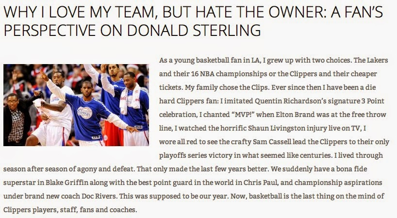 Jasper Article on Donald Sterling