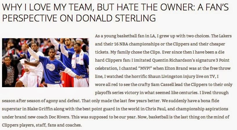 Jasper Article on Donald Sterling