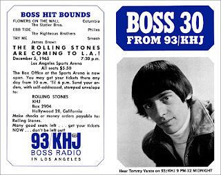 KHJ Boss 30 No. 19 - Tommy Vance