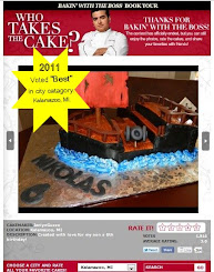 2011 Who Takes the Cake Winner