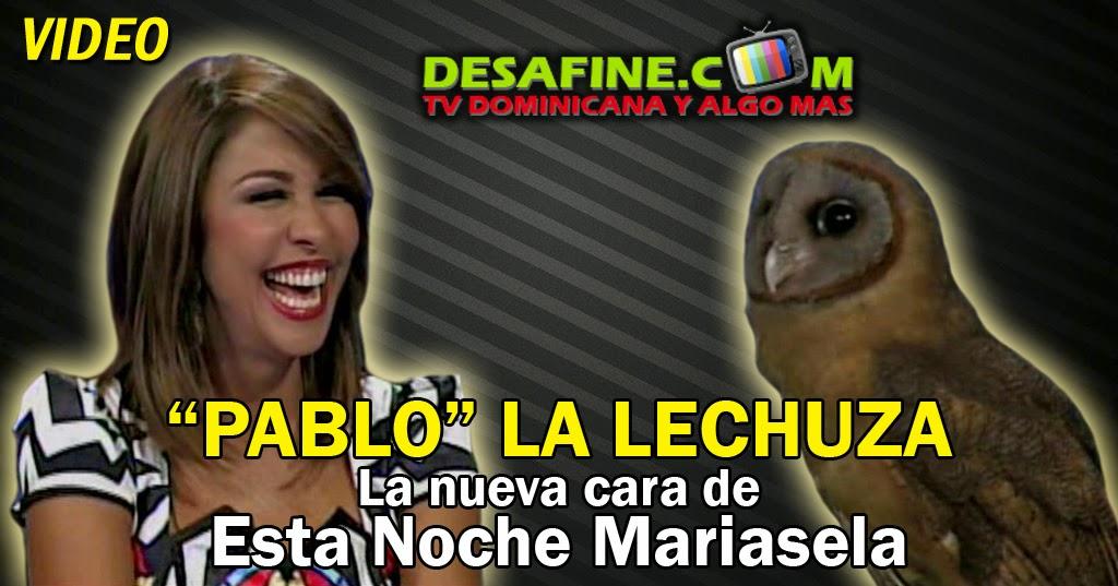 http://www.desafine.com/2014/06/pablo-la-lechuza-la-nueva-cara-de-esta-noche-mariasela.html