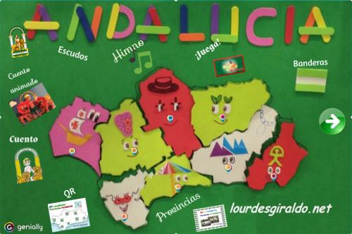 Día de Andalucía en Infantil