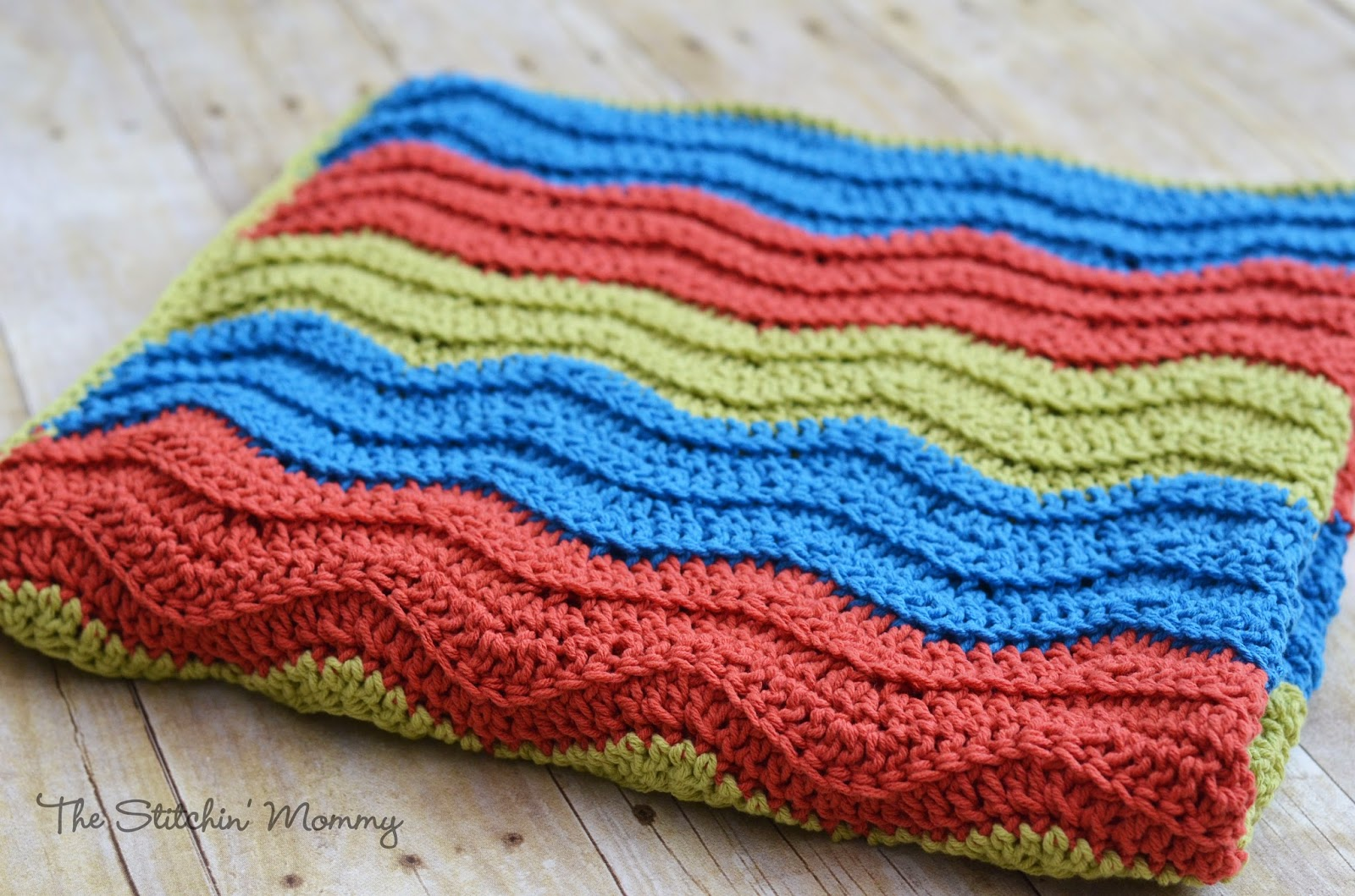 Crochet Patterns Ripple : Easy Crochet Ripple Blanket www.thestitchinmommy.com
