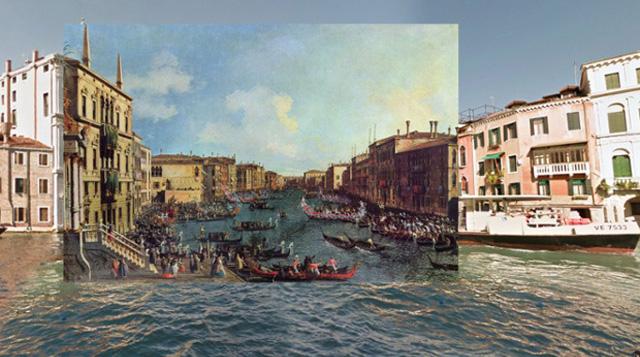 Obras maestras clásicas dentro del moderno Google Street View