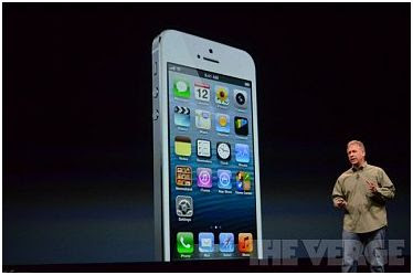 iPhone 5 introducing