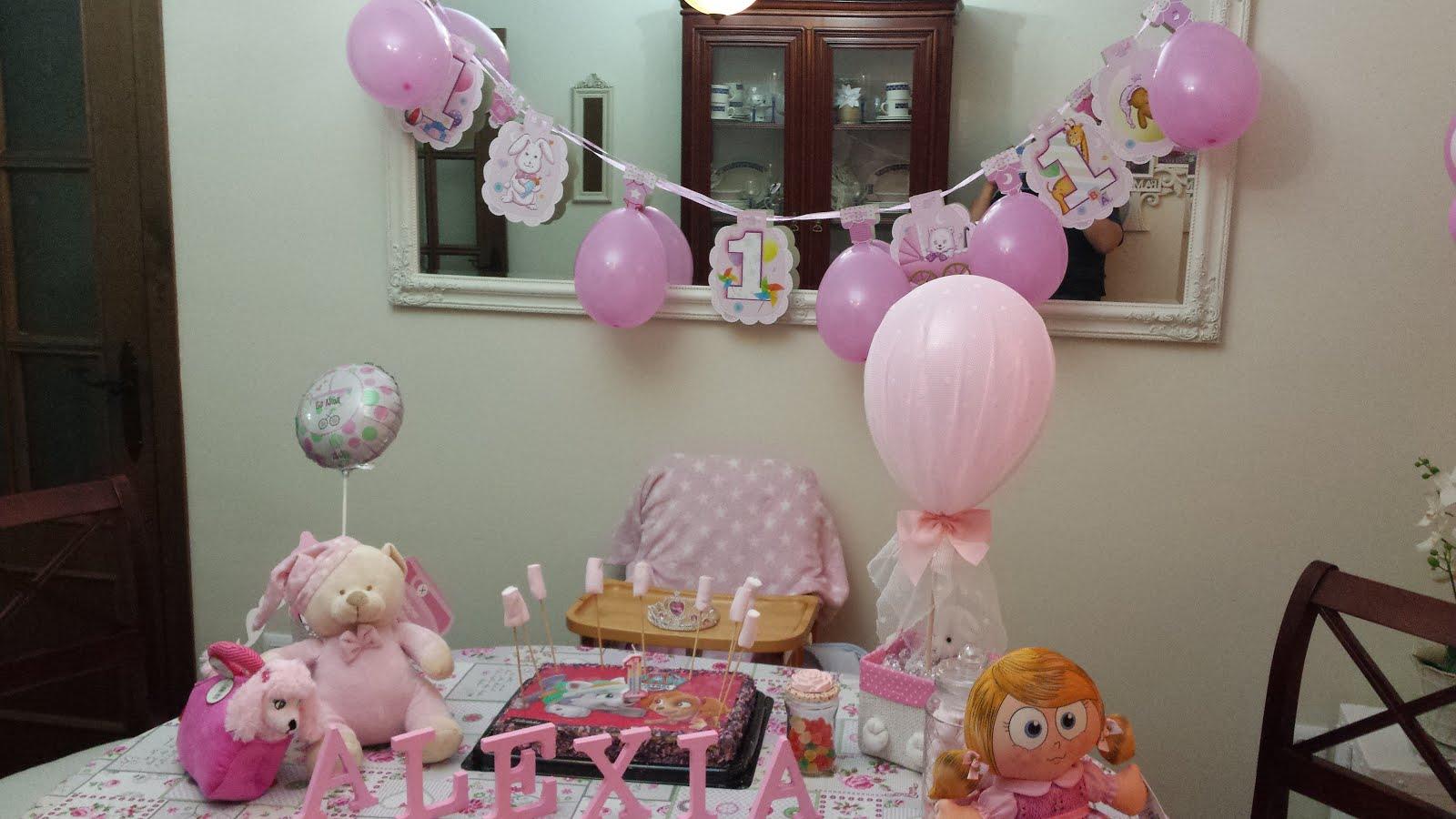 Primer cumpleaño Alexia