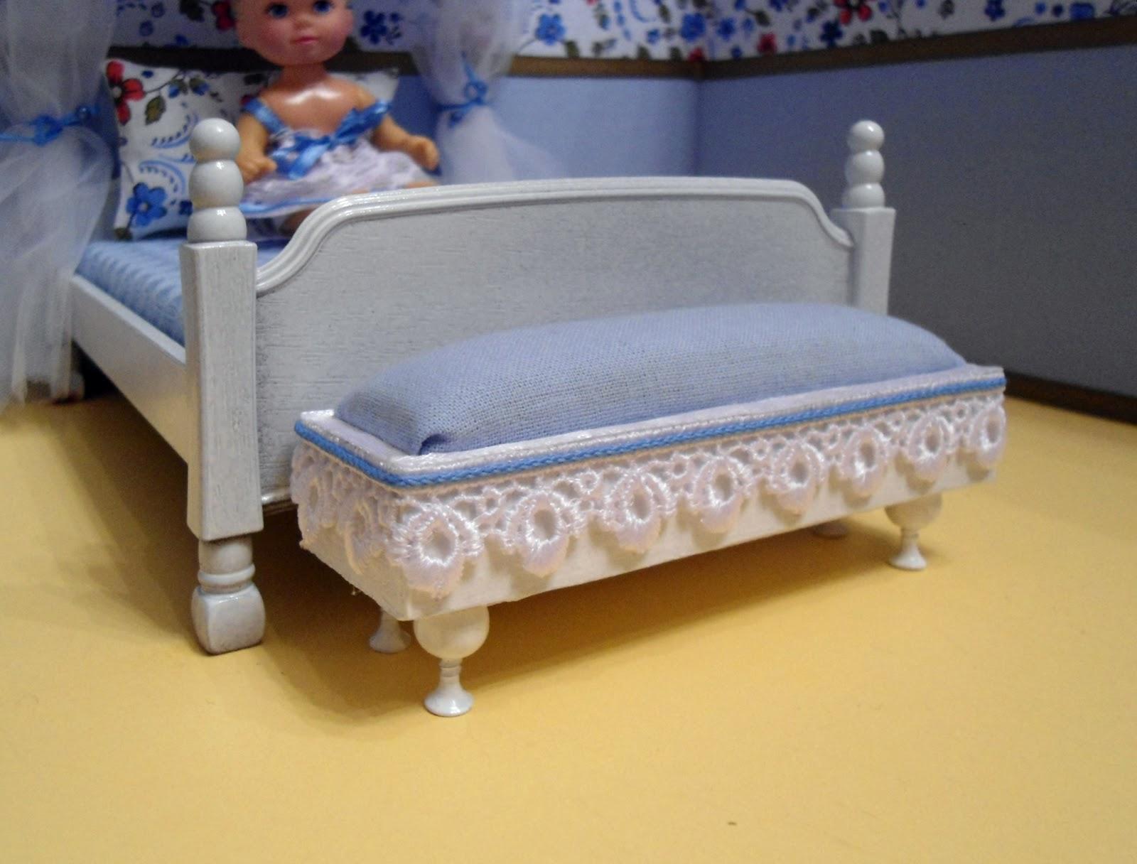 Как сделать пуфик для кукол своими руками 1
