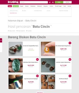 Pusat Jual Beli Batu Cincin (Batu Akik) Secara Online Terlengkap Di Bukalapak.com