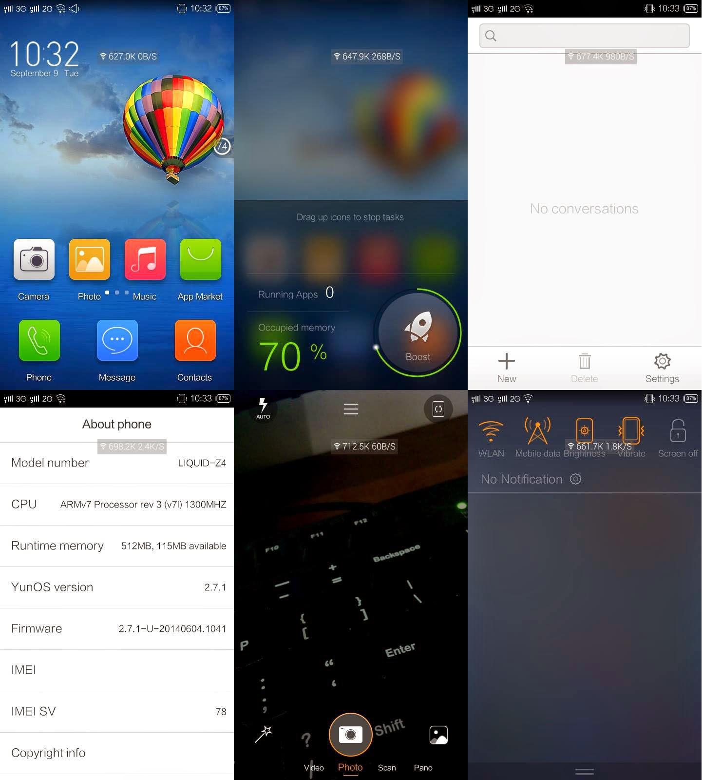 Install ROM YunOS di Acer LIquid Z4 | Super Aneh, Tapi Smooth?