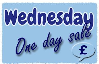 Wednesday One Day Sale