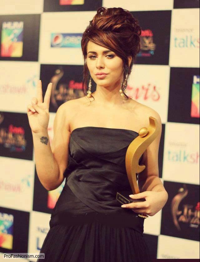 Ayyan Ali at Hum TV Awards 2013