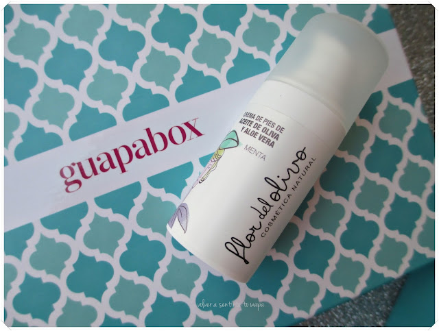 Guapabox - Crema de pies, de aceite de olica y aloe vera de FLOR DE OLIVO