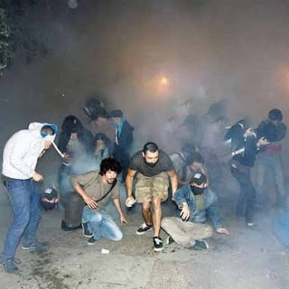 protesters occupied the Gezi Istanbul Park, two hours after a new ultimatum Turkish Prime Minister Recep Tayyip Erdogan