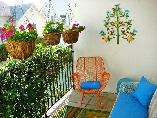 Garden design ideas to balcony beautiful home interiors for Balcony garden design ideas