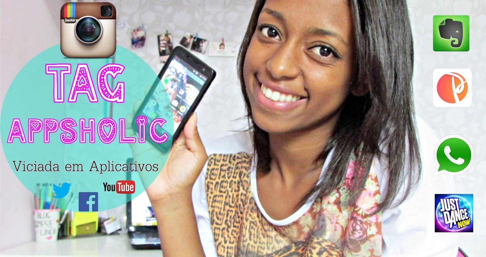 Vídeo dando dicas de aplicativos para editar fotos, se organizar, ouvir música, etc. #AppsHolic
