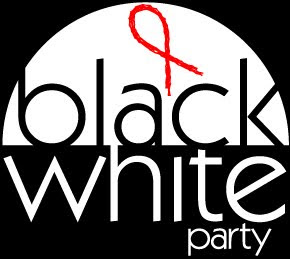 Black and White Party Logo