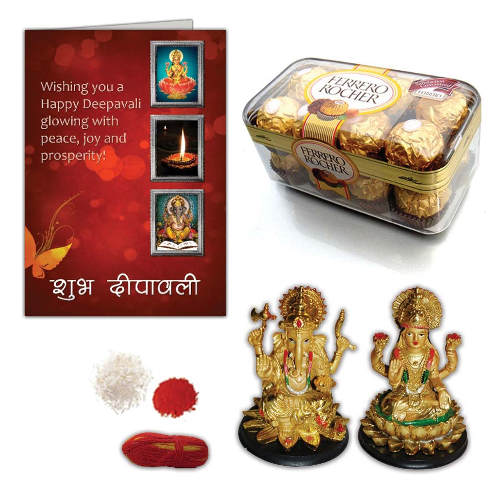 Ganesha Idol and Chocolates