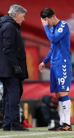 Sin James, Everton ganó 5-4 a Tottenham en la FA Cup