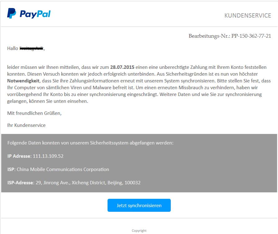 paypal konto schweiz
