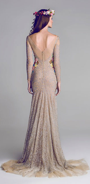 Una colección especial de vestidos de noche