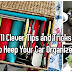11 Clever Tips and Tricks to Keep Your Car Organized