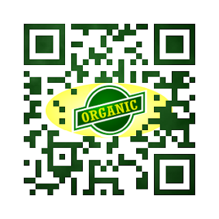 custom qr code: organic