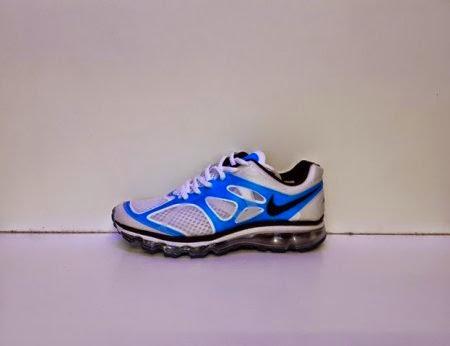 Nike Air Max Fitsole 2 Men putih biru,nike murah,nike import,nike running