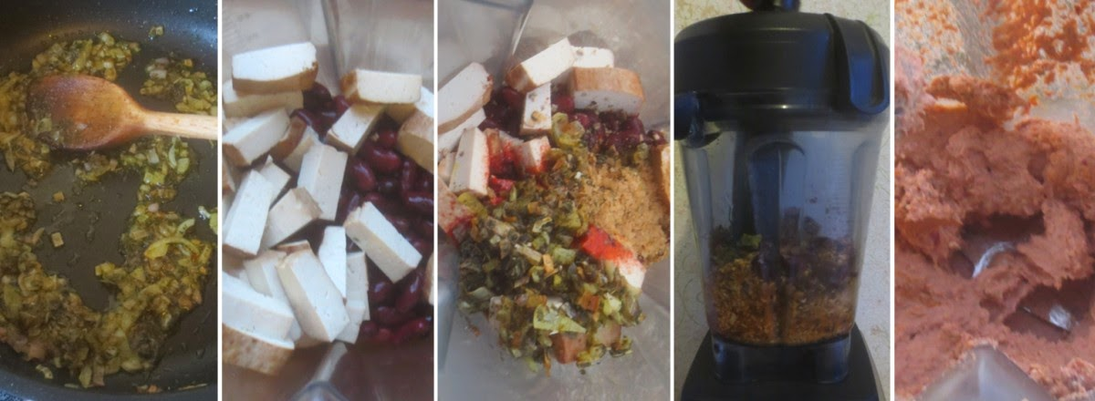 Zubereitung vegane Leberwurst - Räuchertofu-Kidneybohnen-Aufstrich