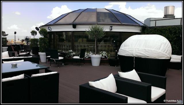 Bar restaurant Rooftop Atmosfera Premier Palace Hotel Kiev Kyiv